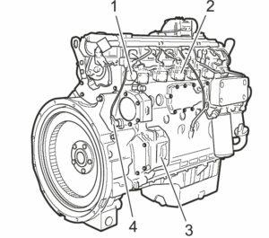 موتور لودر ولوو L90E