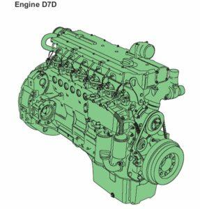 موتور لودر ولوو L120E