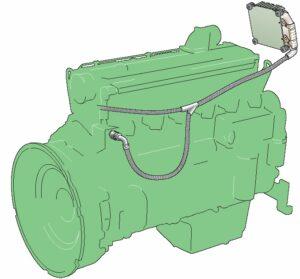 ECU موتور لودر ولوو