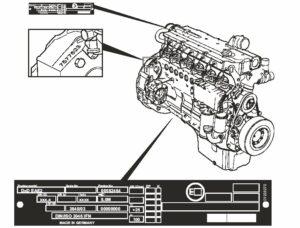 پلاک موتور لودر ولوو
